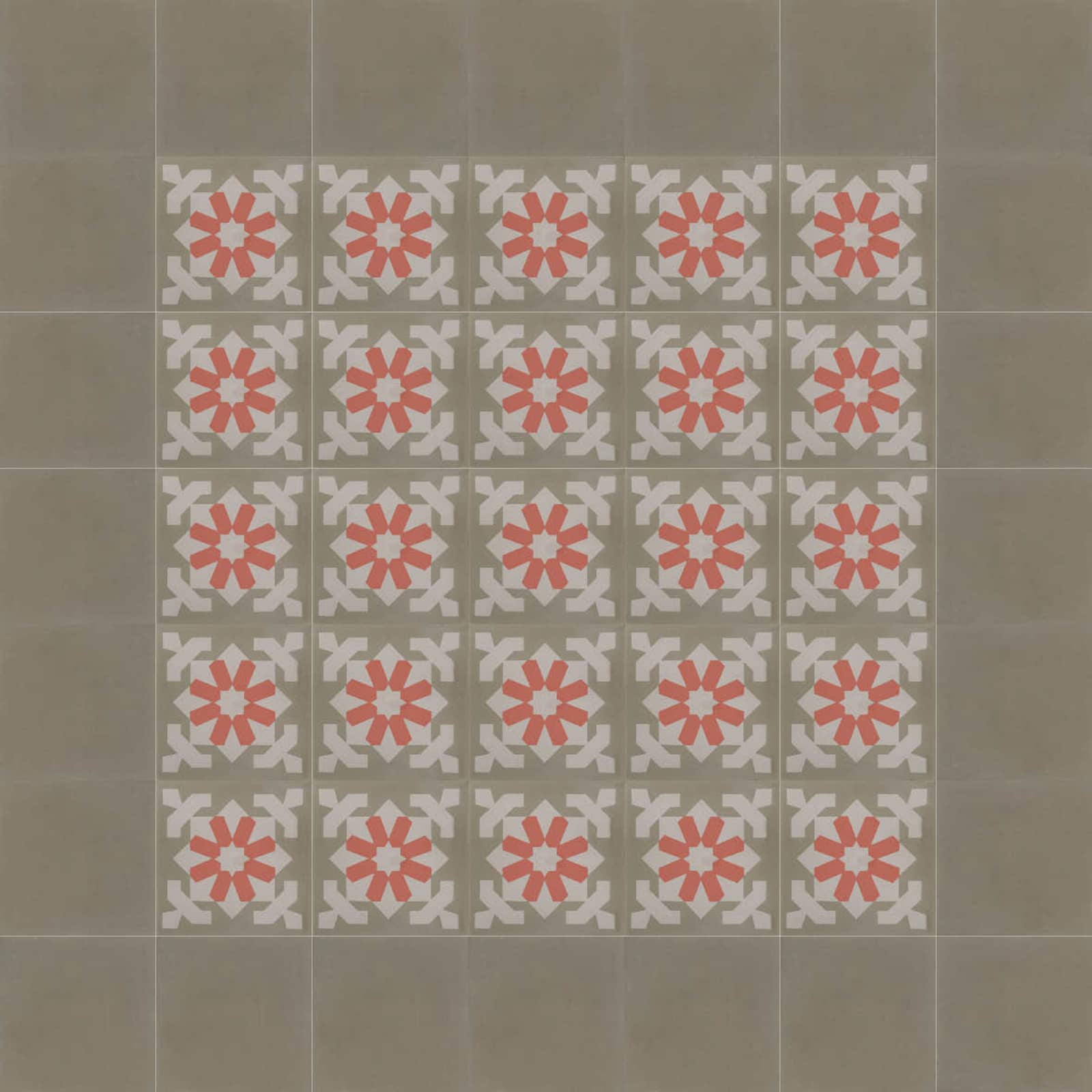 zementfliesen-terrazzofliesen-kreidefarbe-terrazzo-fugenlos-viaplatten-13432-verlegemuster-C | 13432