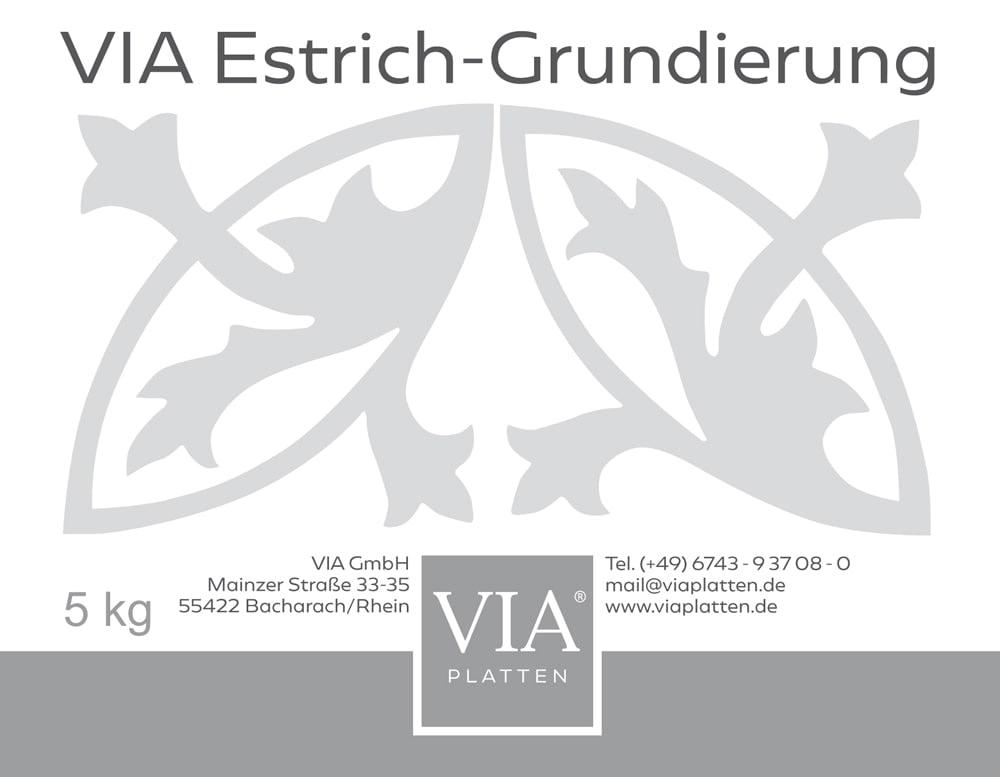 estrich-grundierung-etikett-vorne-via-gmbh | VIA Estrich-Grundierung
