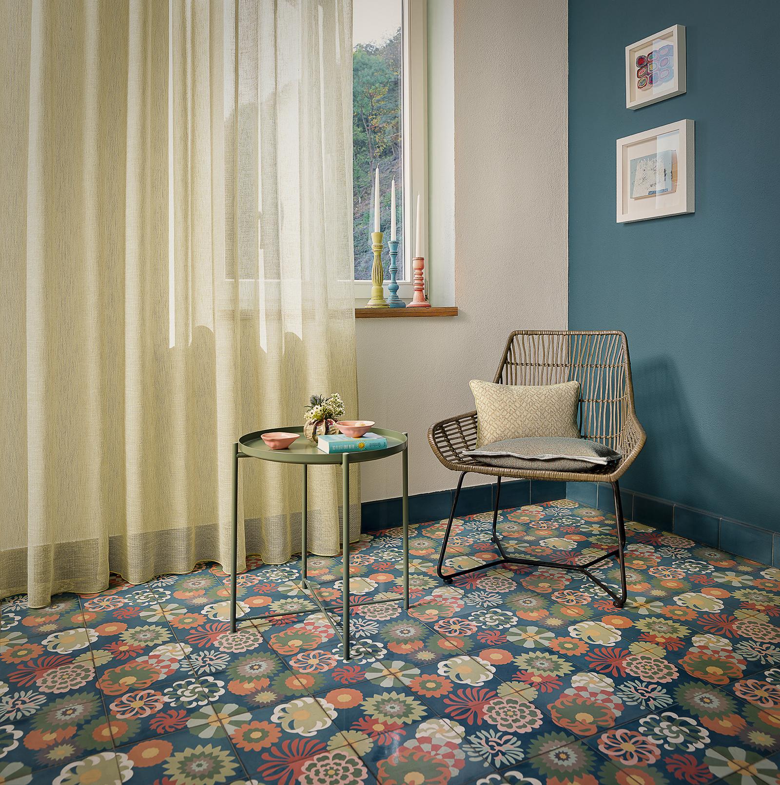 Zementmosaikplatten_nr.51078-blumenwiese-living-viaplatten | 51078