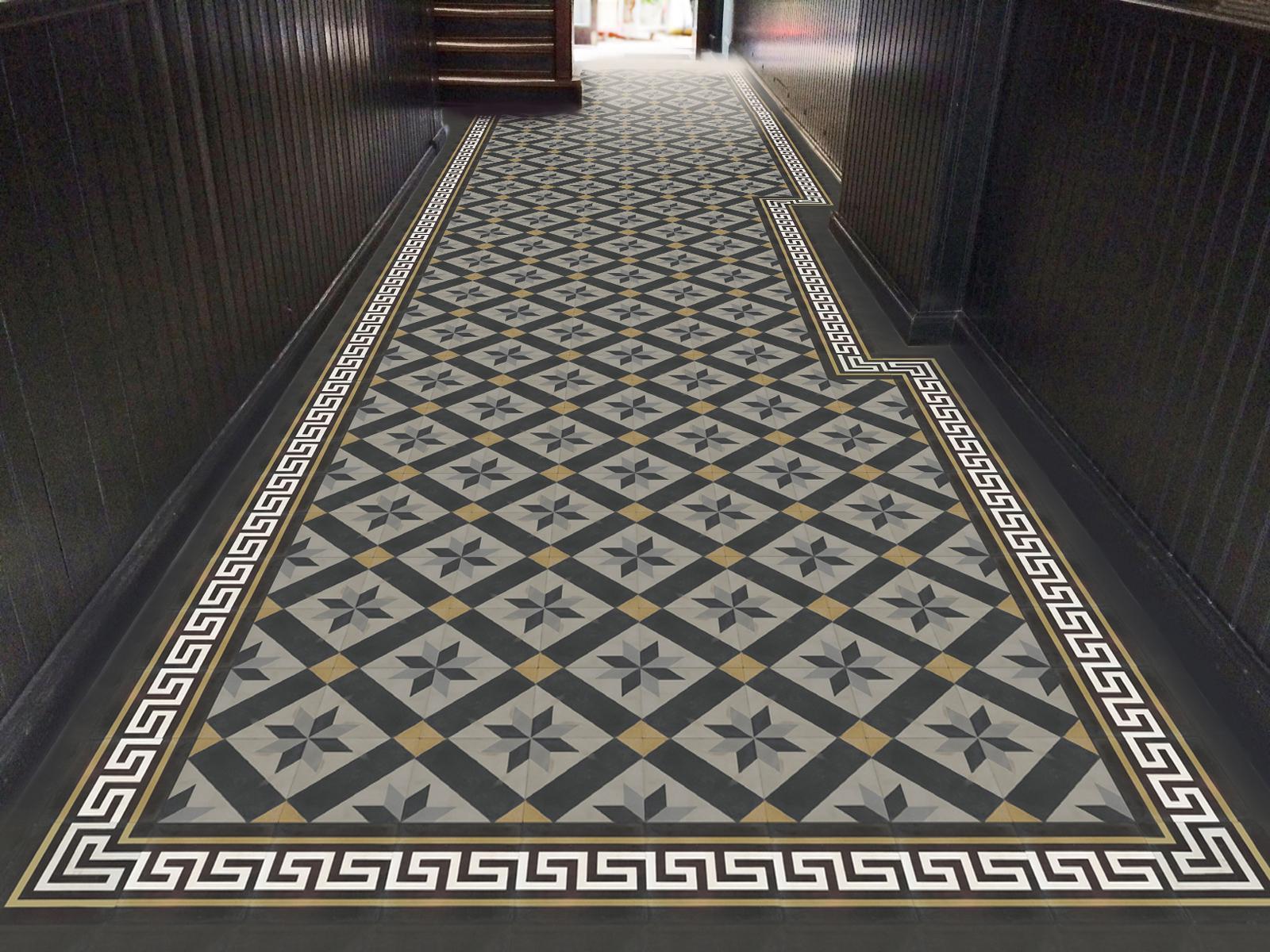 zementmosaikplatten-nr.51109-flur-viaplatten | 51109