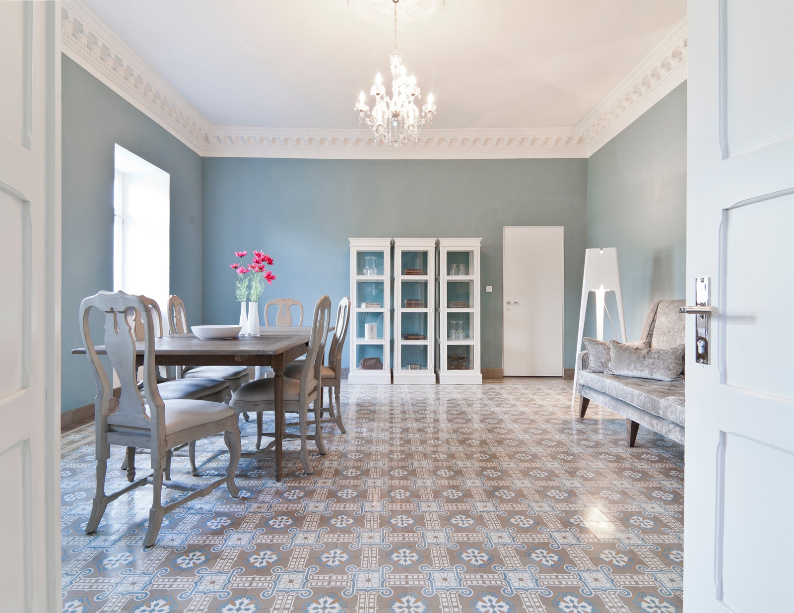 Zementmosaikplatten_nr.51051-blauer-salon-01-viaplatten | 51051/141