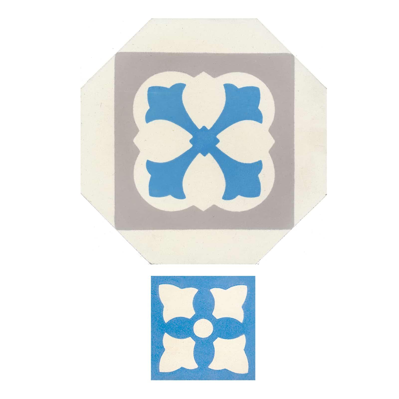 zementfliesen-achteck-nummer-51003-54003-viaplatten | 51003/169