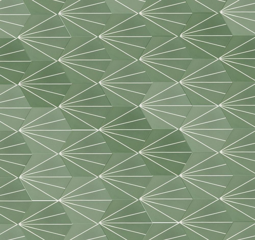 zementmosaikplatten-sechseck-verlegemuster-600853-via-gmbh | 600853