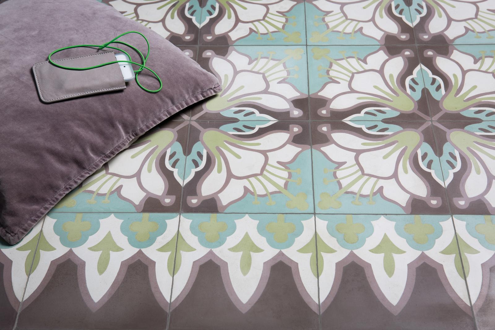 VIA Zementmosaikplatten-nr.51138-living-viaplatten | 51138