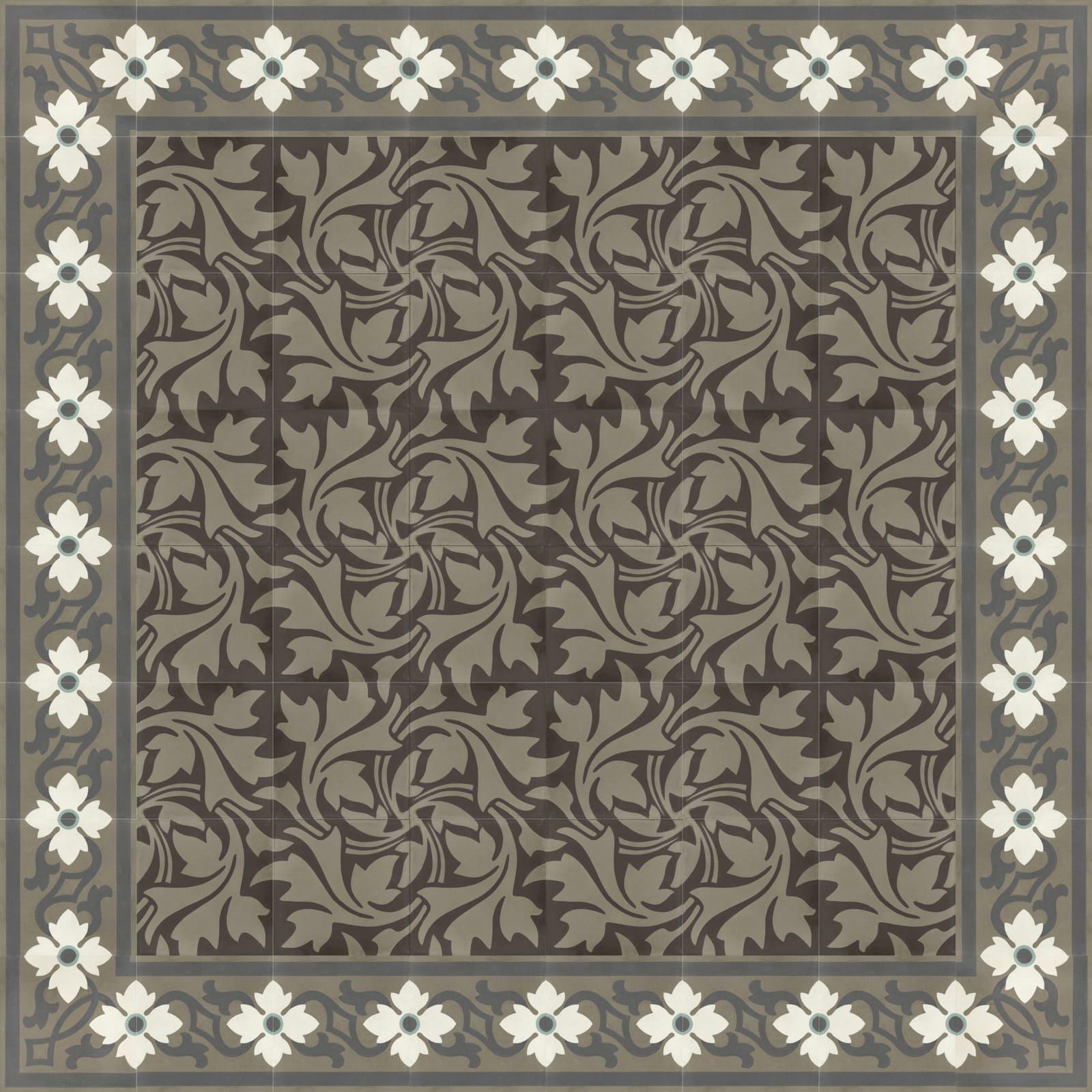 Zementmosaikplatten-verlegemuster-51151-60-via-gmbh | 51151-60