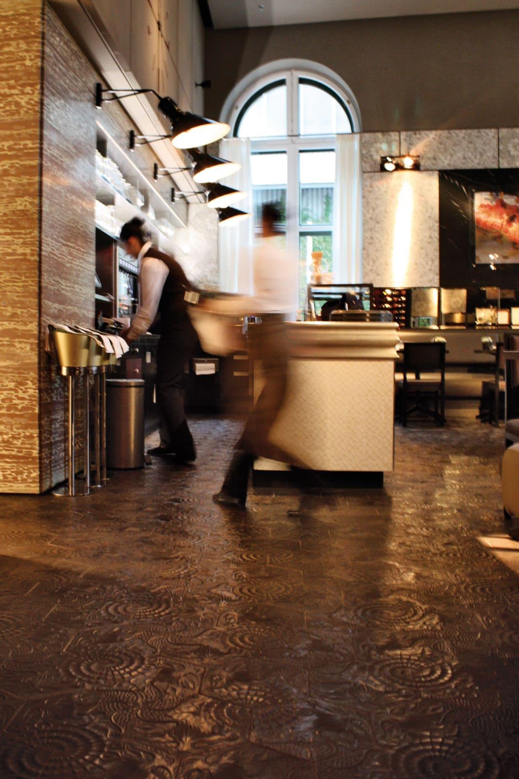 zementfliesen-terrazzofliesen-kreidefarbe-terrazzo-fugenlos-viaplatten-60G-hotel | N° 60G
