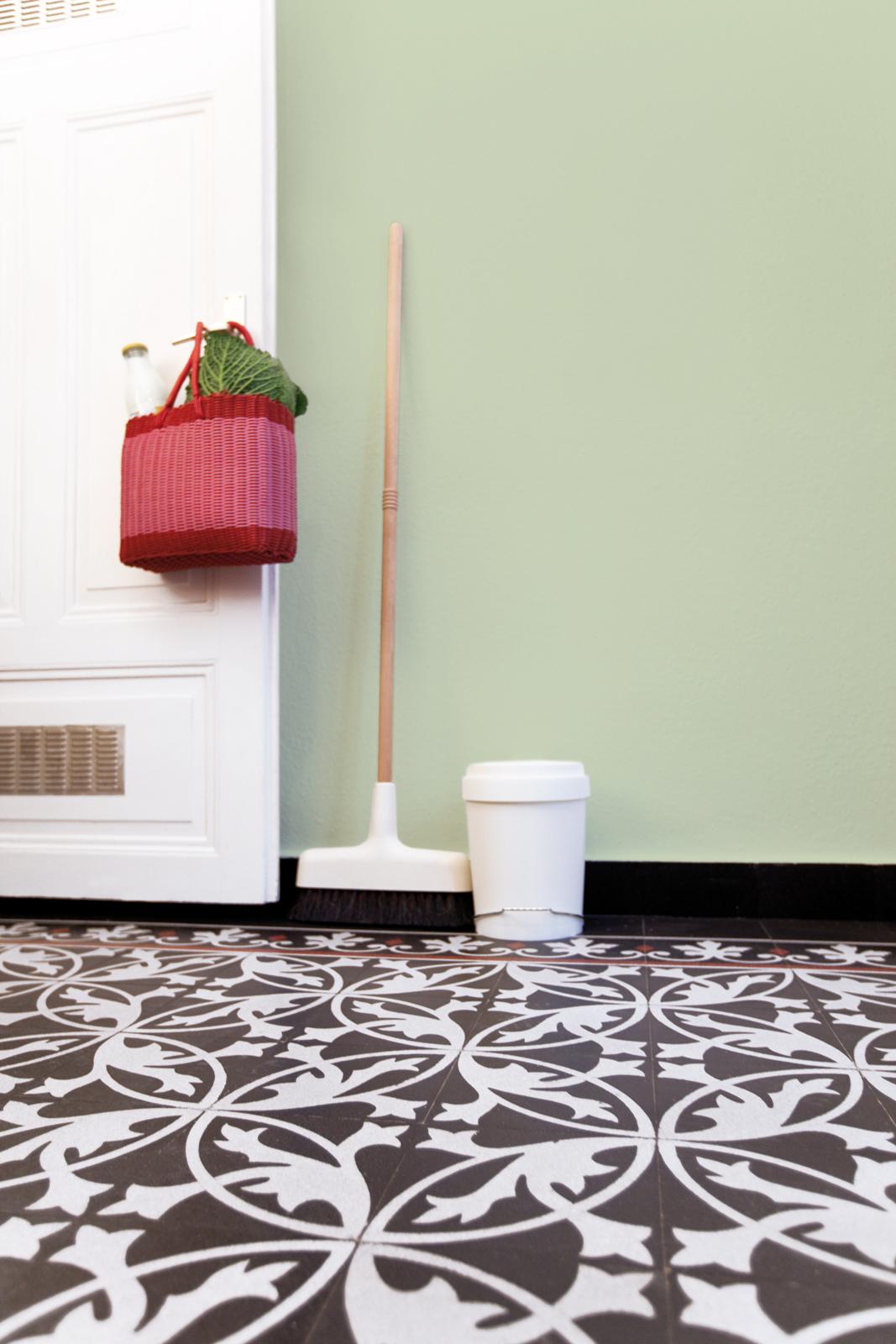 kreidefarbe-gruener-tee-107-flur-zementfliesen-terrazzofliesen-viaplatten | Kreidefarbe Grüner Tee 2500 ml