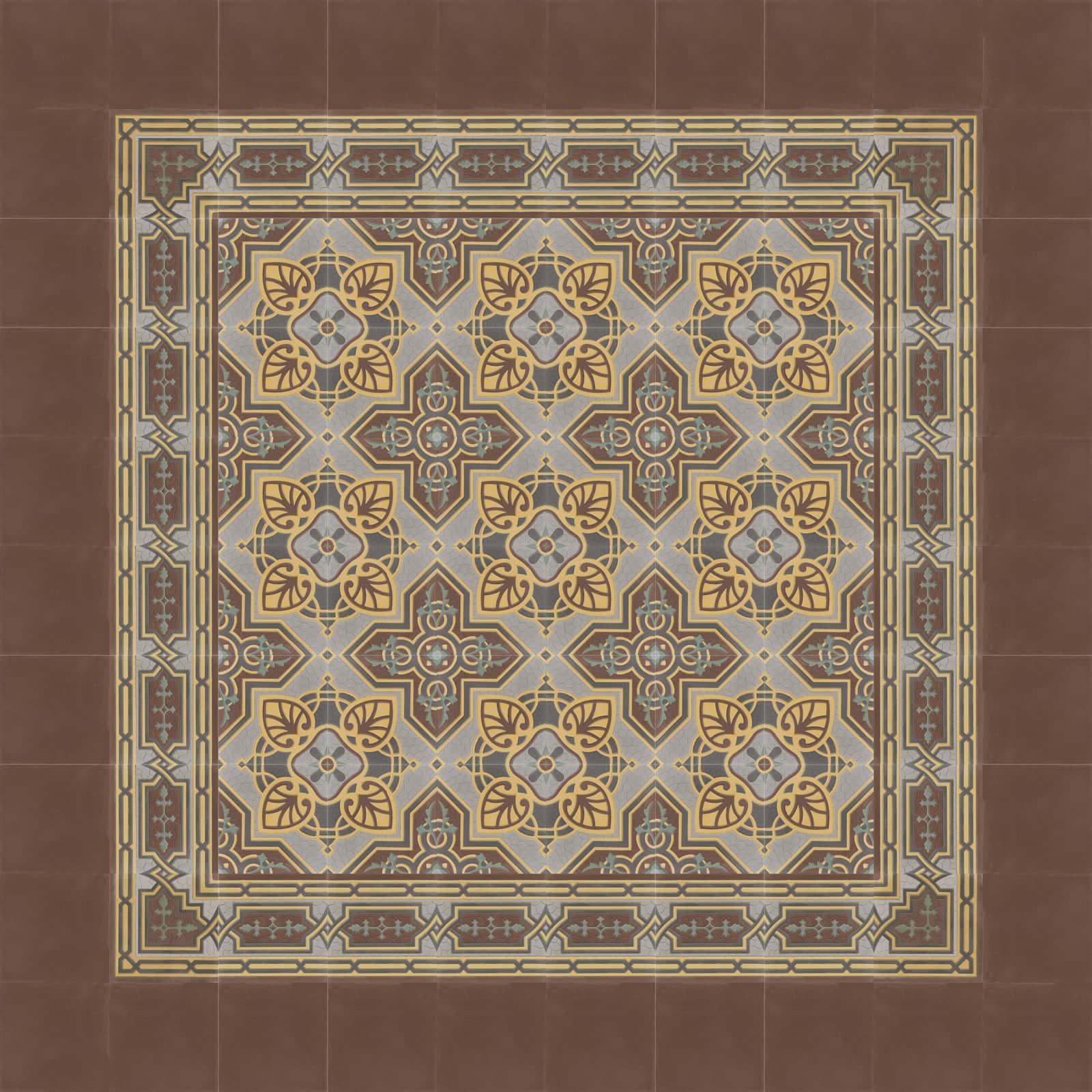zementfliesen-terrazzofliesen-kreidefarbe-terrazzo-fugenlos-viaplatten-41071-verlegemuster-72 | 41071