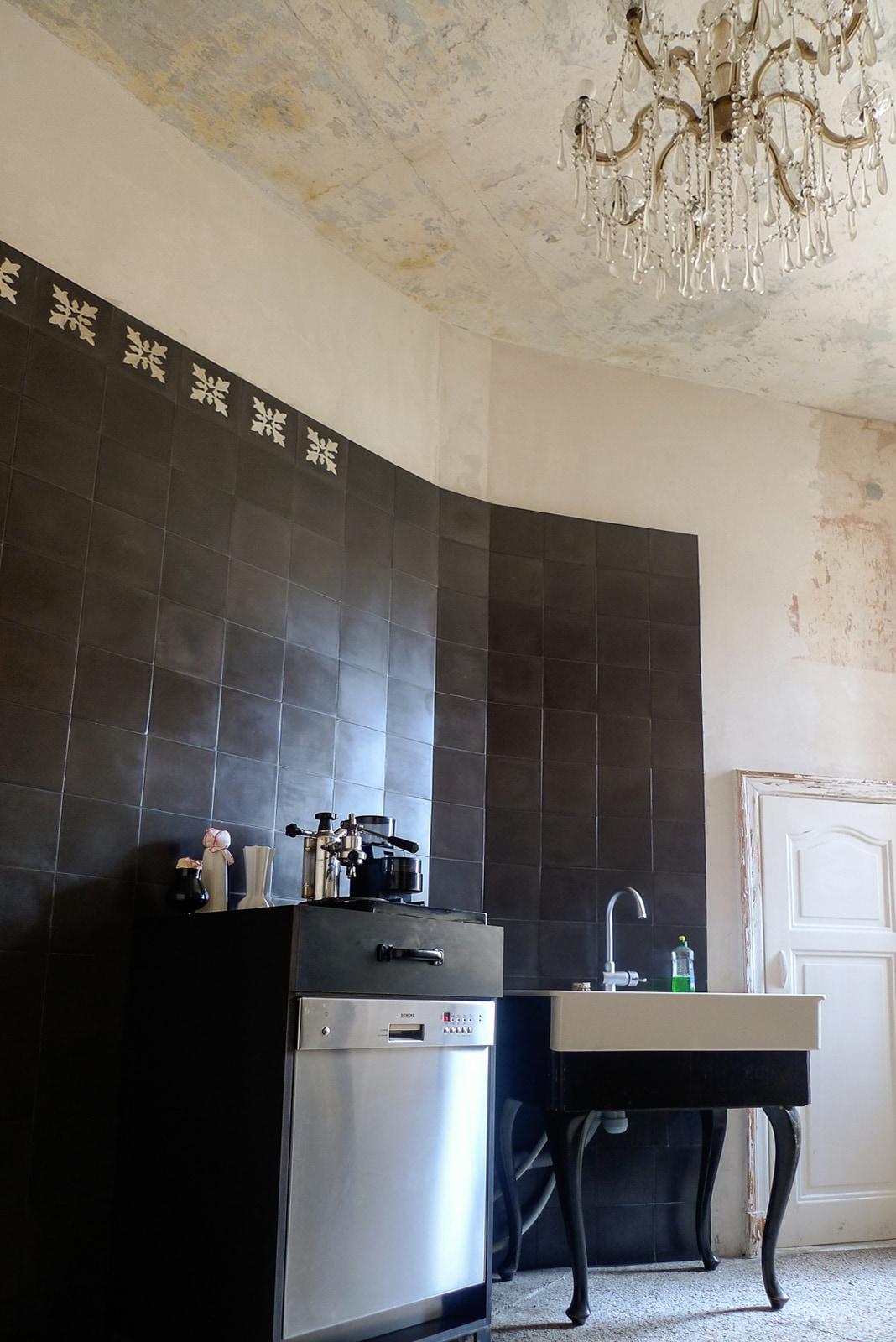 zementfliesen-VIA Zementmosaikplatten-nr.10960-kueche-02-viaplatten | 10960