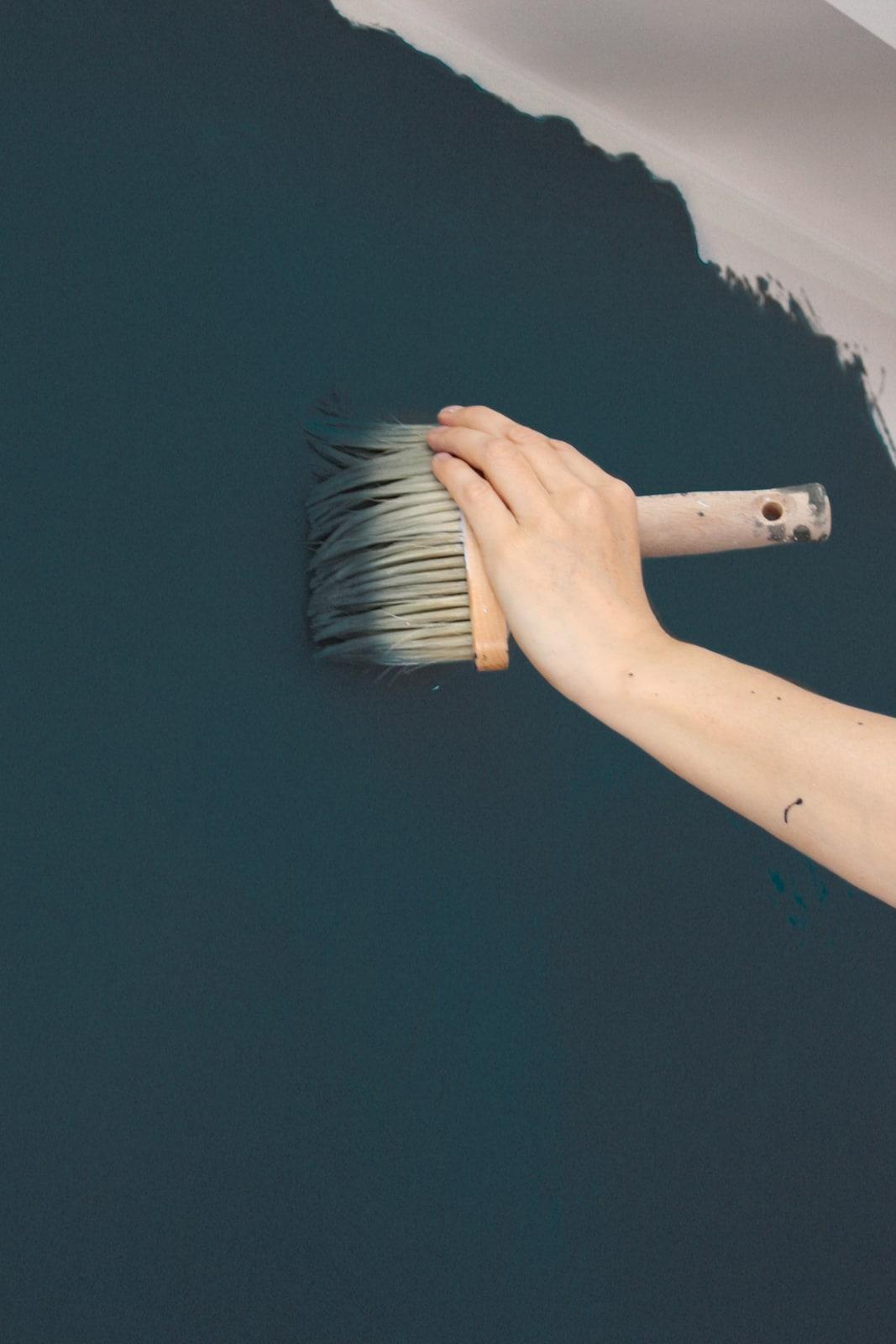 zementfliesen-terrazzofliesen-kreidefarbe-Indigo-terrazzo-fugenlos-viaplatten-streichen | Kreidefarbe Indigo 60 ml