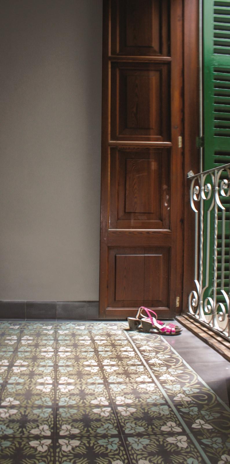 zementfliesen-VIA-zementmosaikplatten-nummer-11761-schlafzimmer | 11761
