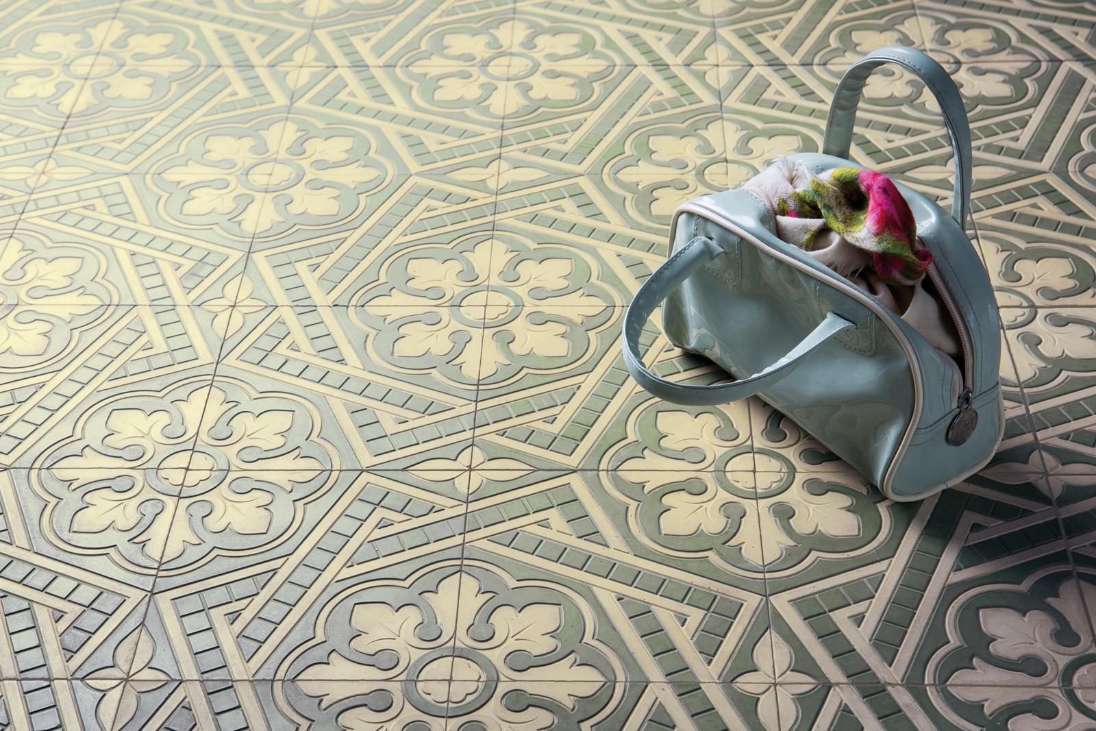 zementfliesen-VIA_zementmosaikplatten-nr.40553-flur-viaplatten | 40553