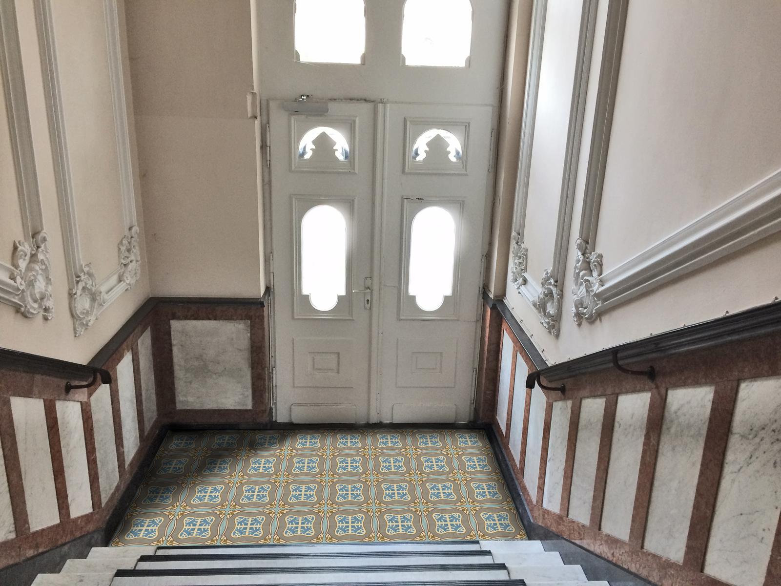 VIA Zementmosaikplatten-nr.51130-eingang-viaplatten | 51130/141