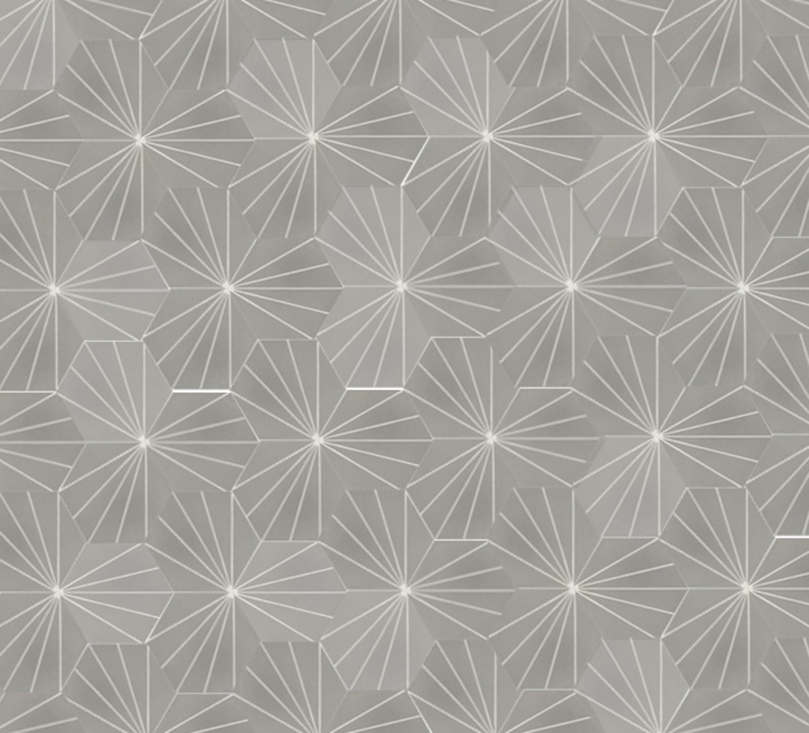 zementfliesen-zementmosaikplatten-sechseck-verlegemuster-600852-via-gmbh | 600852