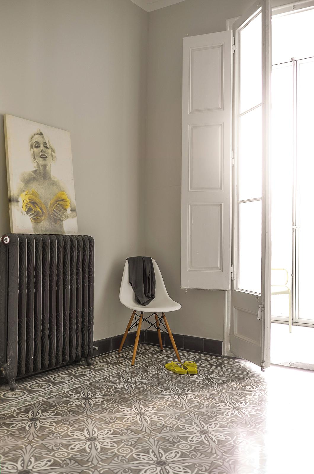 VIA Zementmosaikplatten-nr.51143-schlafzimmer-viaplatten | 51143