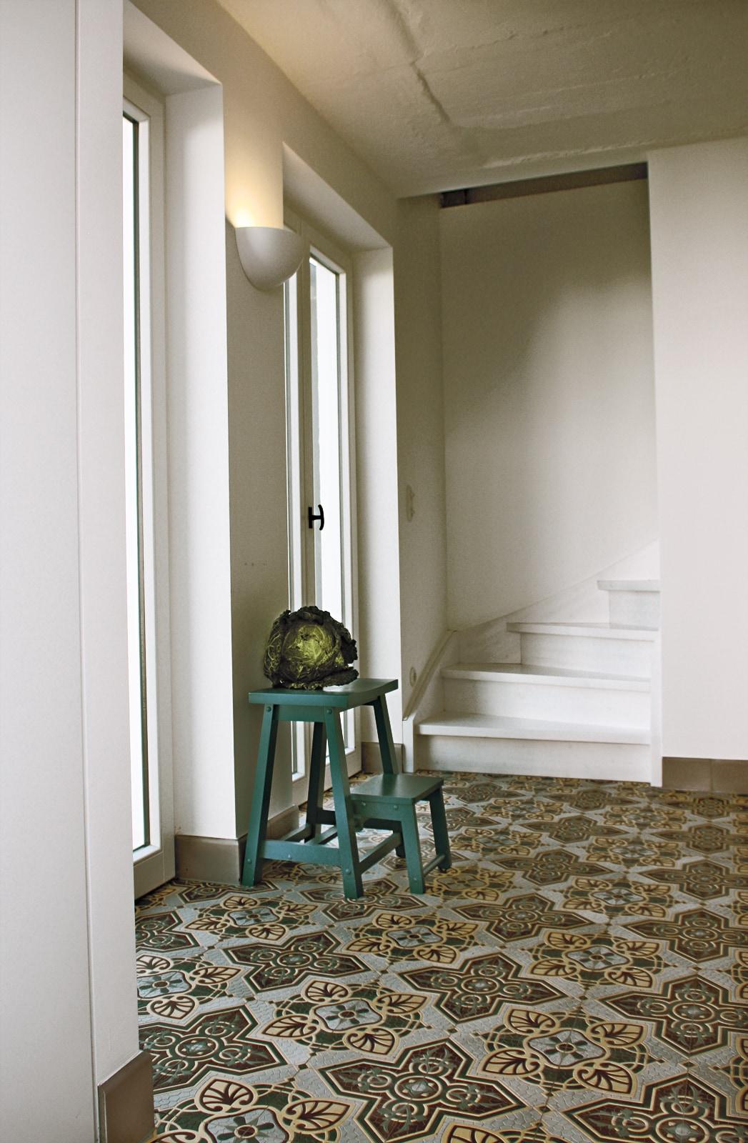 zementfliesen-VIA Zementmosaikplatten-nr.41071-eingang-02-viaplatten | 41071