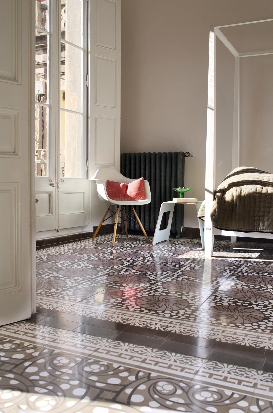 zementmosaikplatten-nr.51135-8281-schlafzimmer-viaplatten | 51135-8281