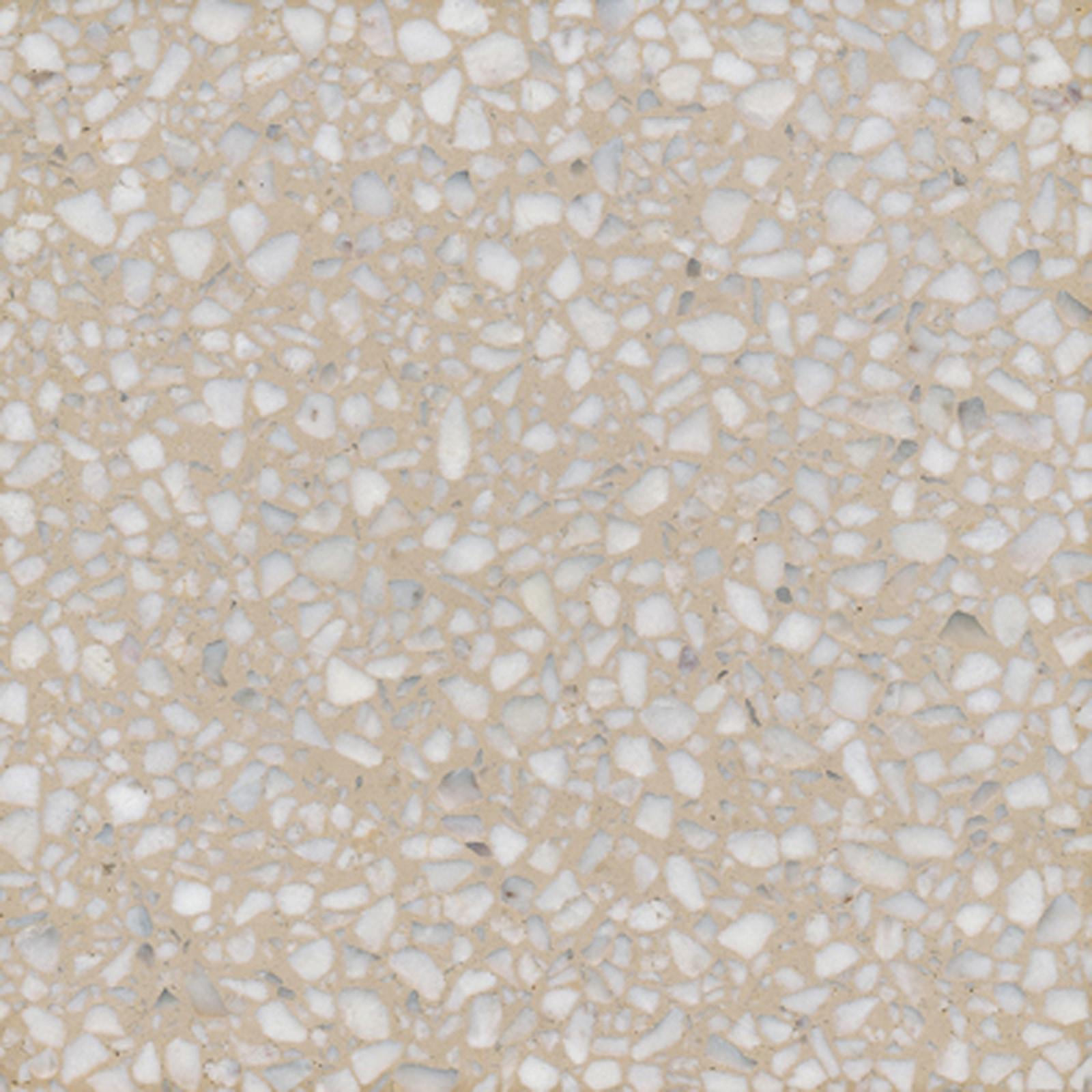 VIA Terrazzoplatte grob in beige