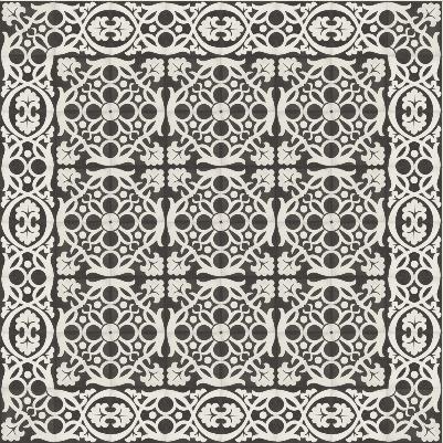 via_zementmosaikplatten_22460-32460_schwarz-wei_-muster | 22460