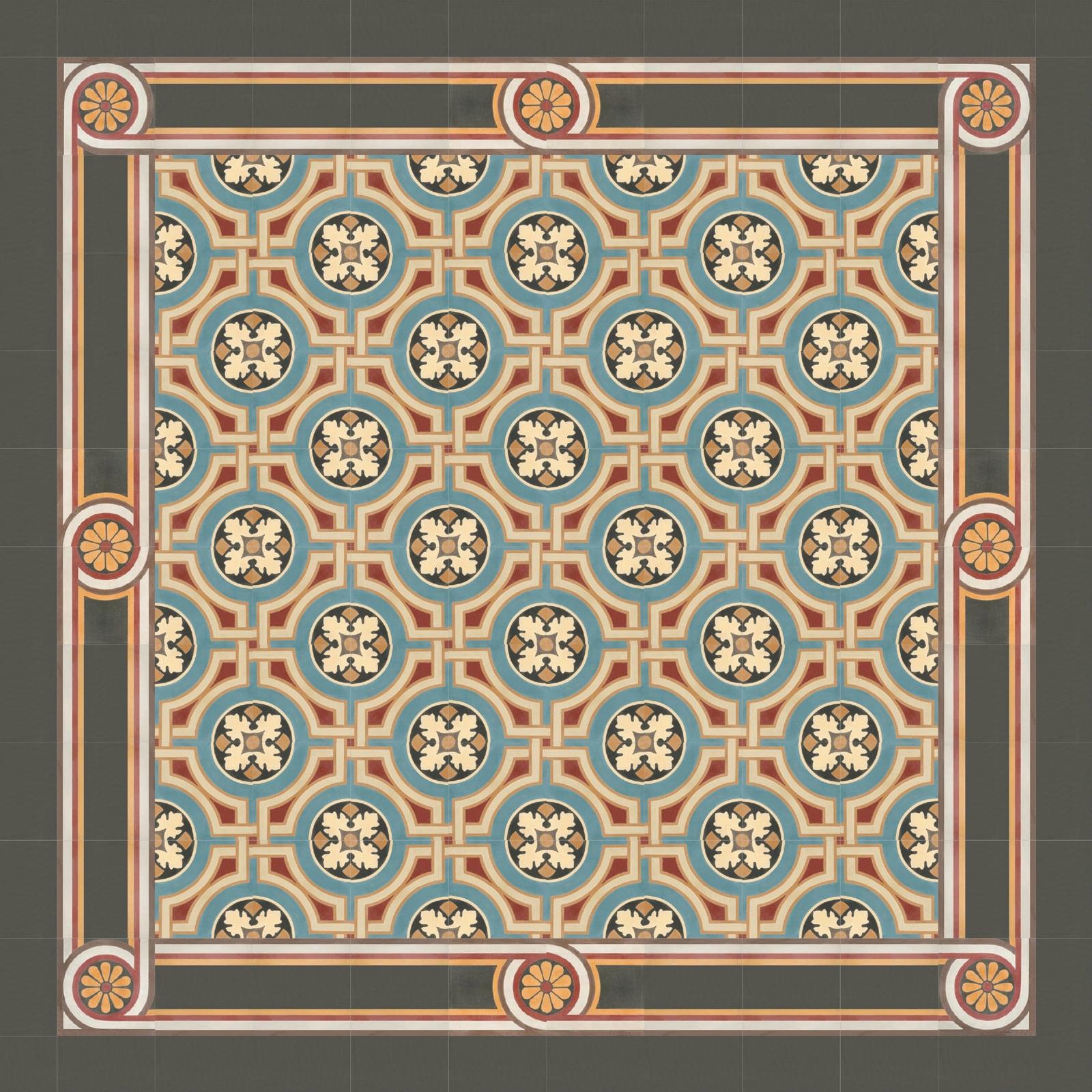 zementmosaikfliesen-nr.51028-viaplatten | 51028/170