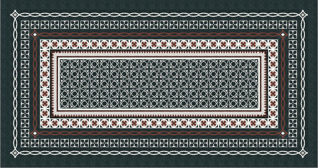 VIA Terrazzofliese verschiedene Muster