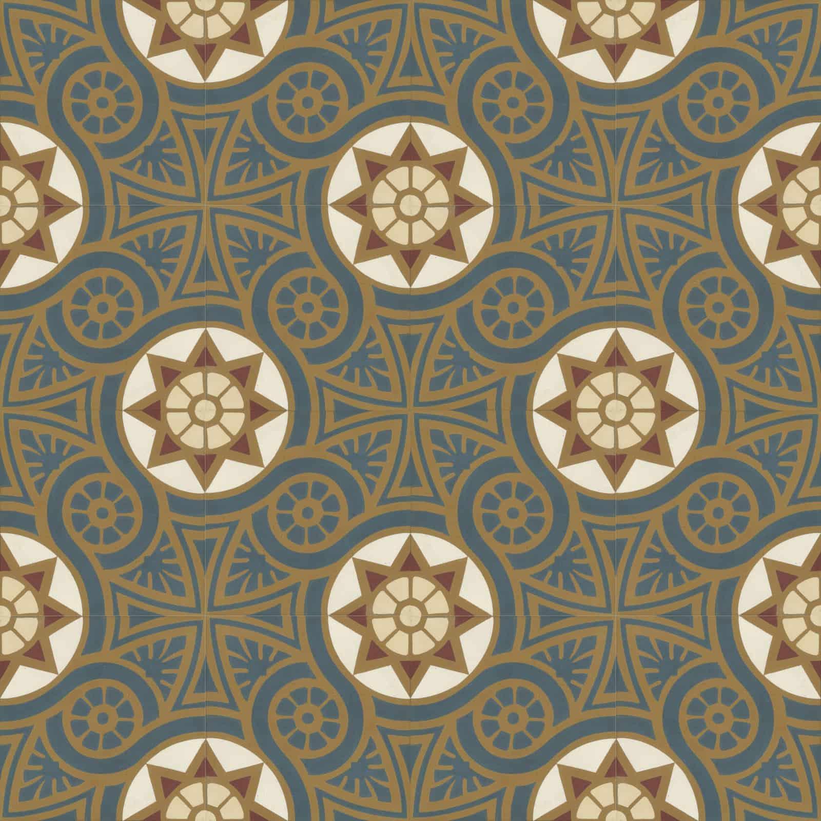 zementfliesen-terrazzofliesen-kreidefarbe-terrazzo-fugenlos-viaplatten-verlegemuster-51191 | N° 51191/170
