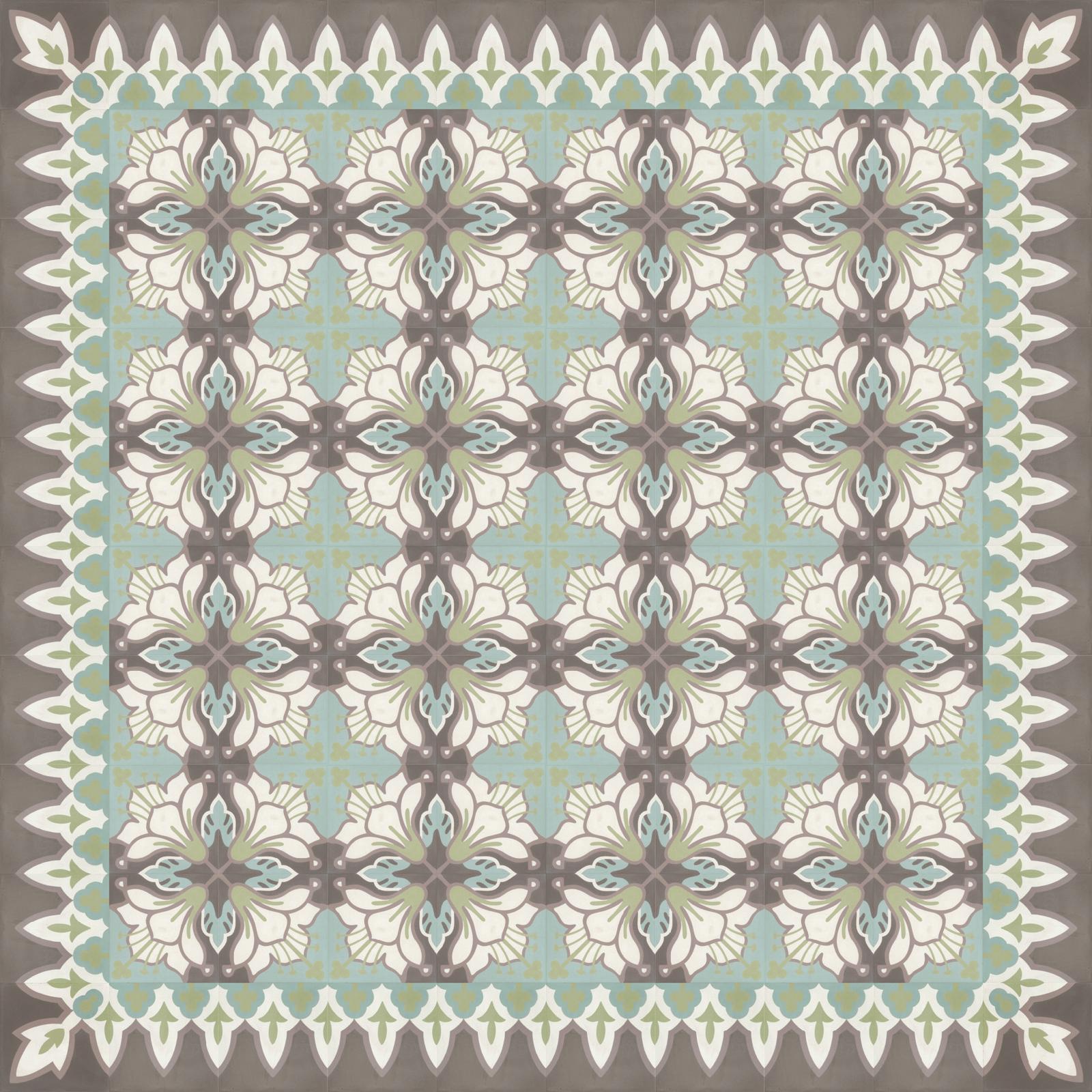 zementmosaikplatten-Verlegemuster-51138 -viaplatten | 51138