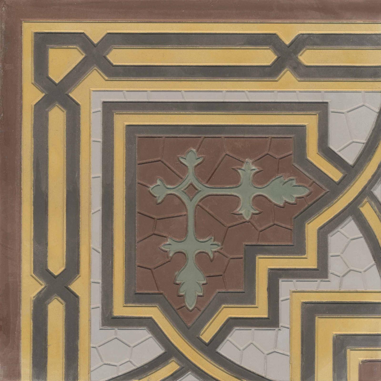 zementmosaikfliesen-nr.43071-viaplatten | 43071