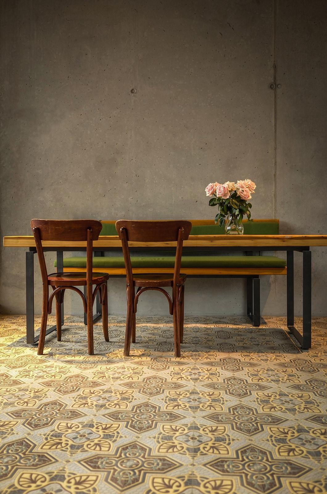 zementfliesen-VIA Zementmosaikplatten-nr.41071-cafe-viaplatten | 41071