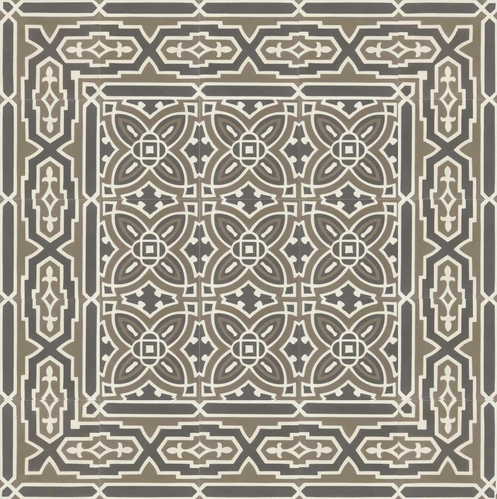 zementfliesen-terrazzofliesen-kreidefarbe-terrazzo-fugenlos-viaplatten-51184_143-verlegemuster | N° 51184/143