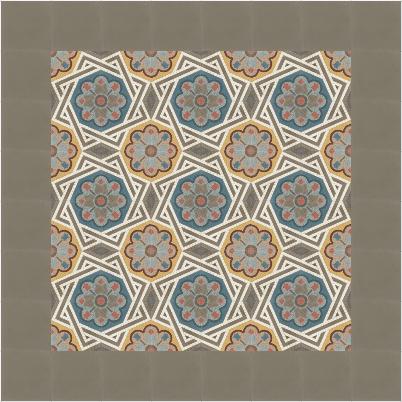 zementmosaikplatten-nummer-51163-verlegemuster-via | 51163