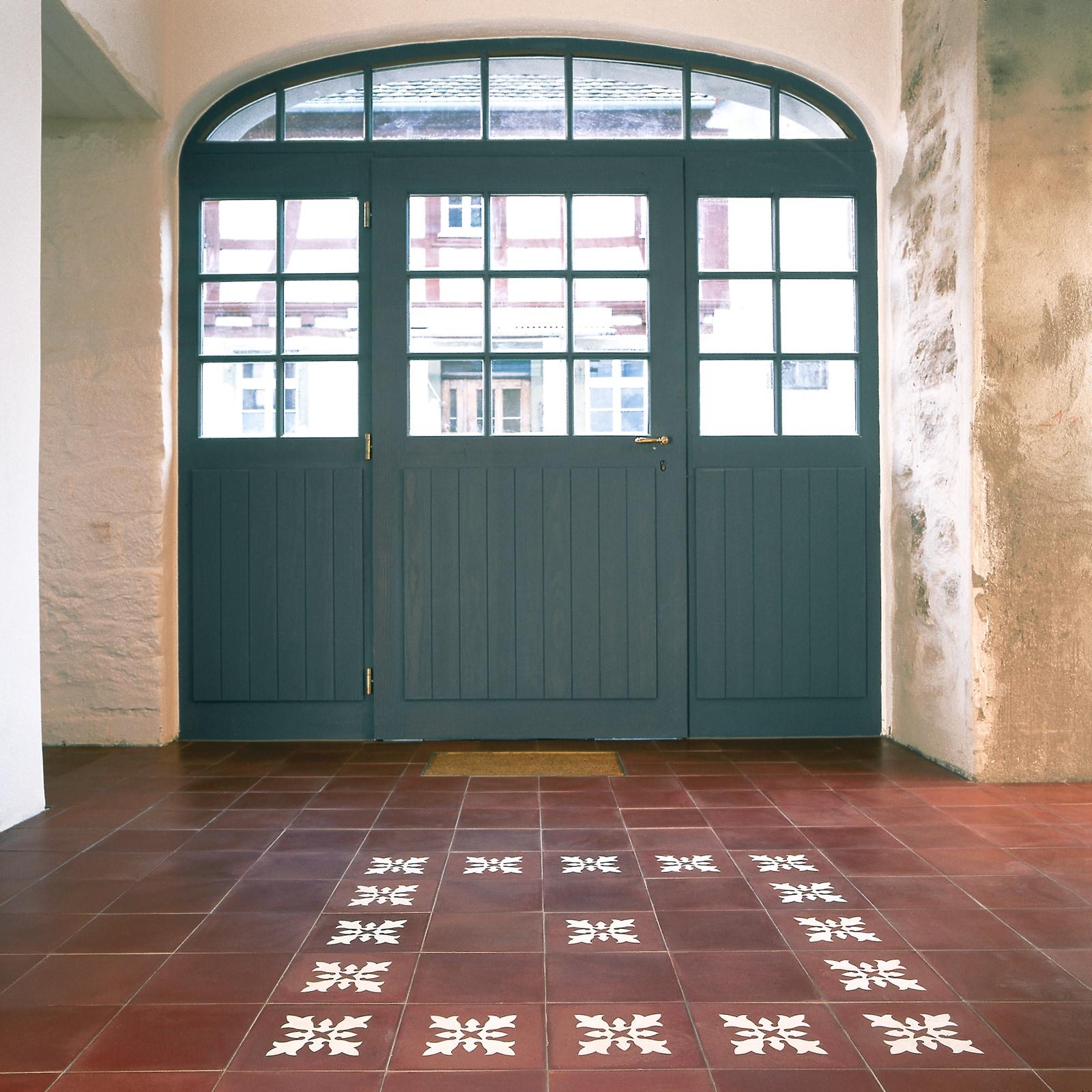 zementfliesen-VIA Zementmosaikplatten-nr.10934-eingang-viaplatten | 10934