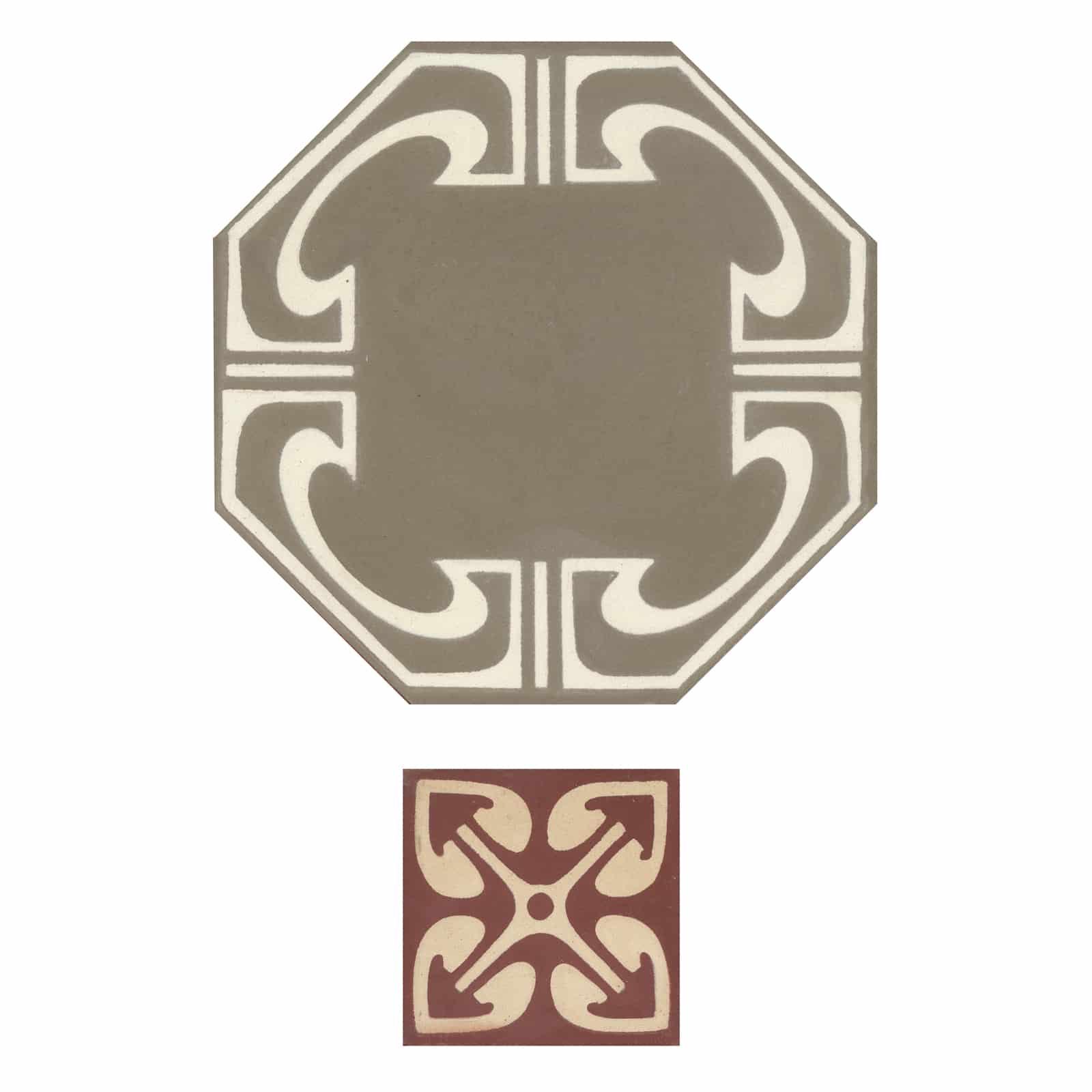 zementfliesen-achteck-nummer-58040-viaplatten | 58040/169