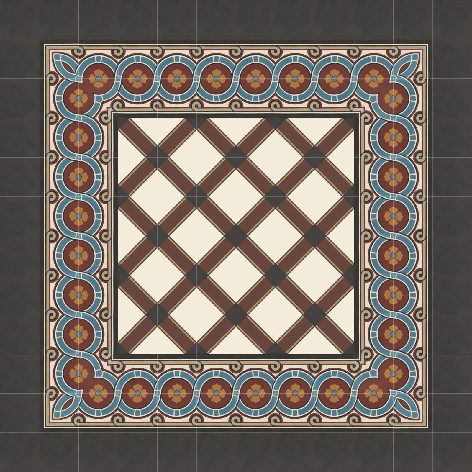 zementfliesen-verlegemuster-nummer-51167-viaplatten | N° 51166/170
