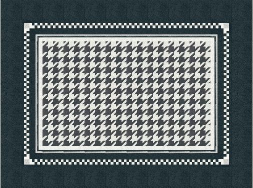 VIA Terrazzofliese schwarz weiß