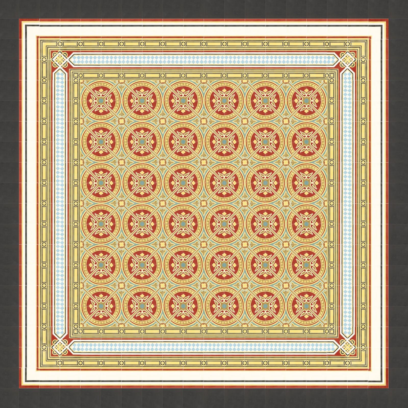 zementfliesen-VIA_verlegemuster_51049_A-viaplatten | 51049/165
