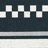 VIA Terrazzo in schwarz weiß